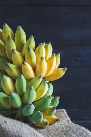 darkwood: Yellow Bananas on the dark wood