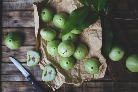 Green Mountain Apples Stok Fotoğraf