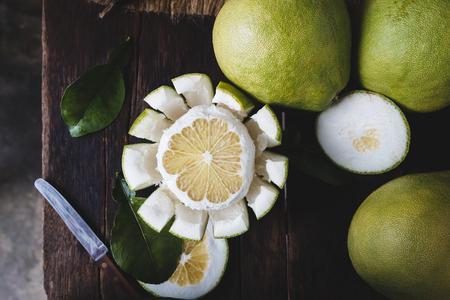 신선한 Pomelo 과일