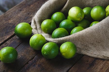 Fresh Green Lemons