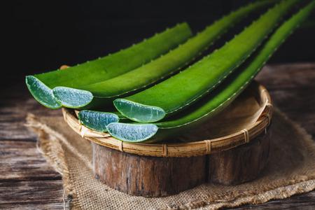 Fresh Aloe Vera Фото со стока - 83394340