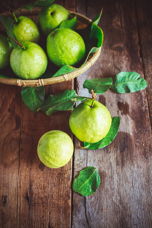 Fresh Guavas Stock Photo