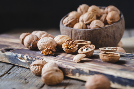 Walnuts Seeds Stock Photo - 83399458