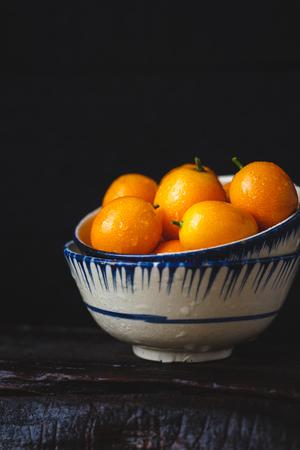 Fresh Kumquat Fruits Reklamní fotografie