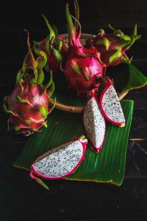Fresh Dragonfruits