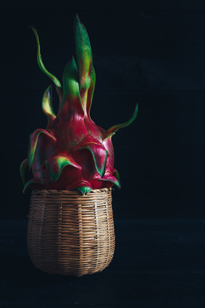 Fresh Dragonfruit Stock Photo
