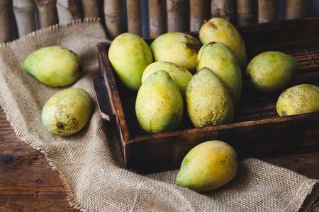 ripe: Ripe Mangoes Stock Photo