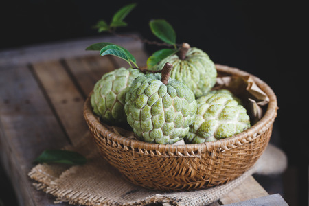 Custard Apples from Vietnam Stock fotó