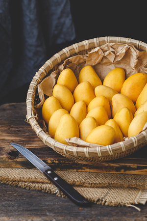 Little mangoes from Vietnam Imagens