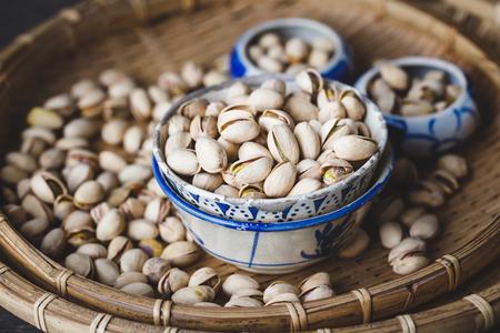 Pistachio nuts Imagens