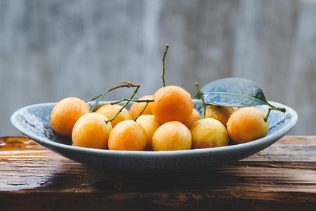Marian plum fruits