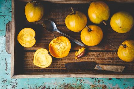 Lucuma fruits-Eggfruits Stock Photo - 100064897