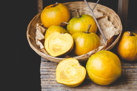 Lucuma fruits-Eggfruits Stock Photo