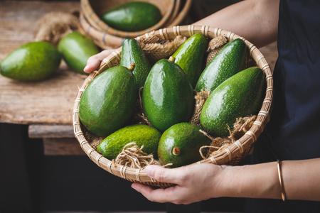 Fresh avocados from Vietnam