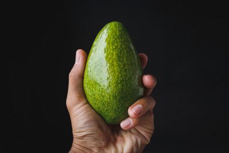 Fresh Green Avocados