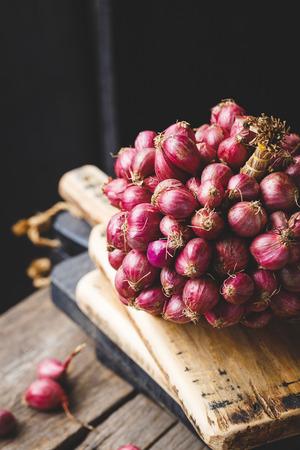 Shallots-Onions Banco de Imagens - 109636934