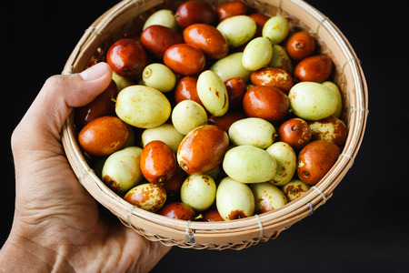 Chinese date fruits-Ziziphus jujuba fruits