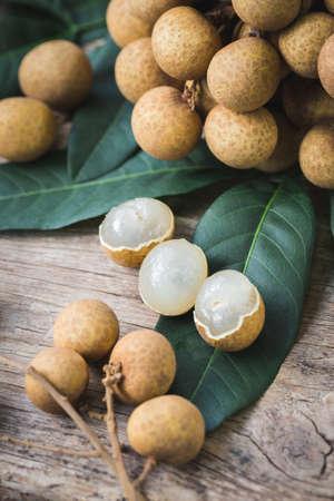Fresh longan fruit- Sweet fruit 免版税图像 - 152115655