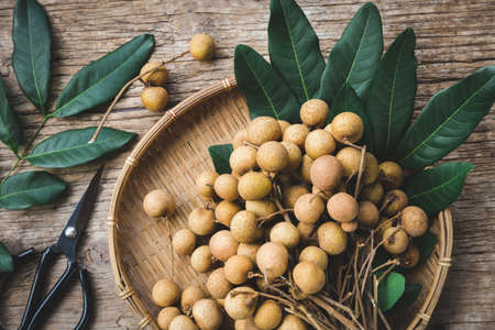 Fresh longan fruit- Sweet fruit 版權商用圖片 - 152115715
