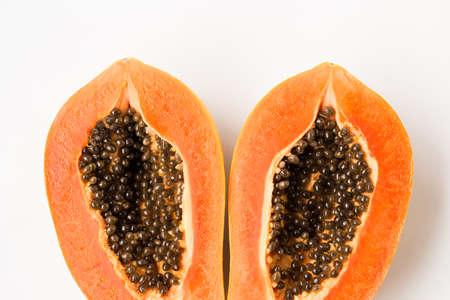 Fresh papaya fruit- Healthy fruit 版權商用圖片 - 152115736