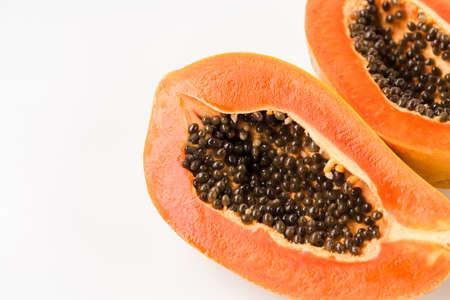 Fresh papaya fruit-Healthy fruit 版權商用圖片 - 152115738