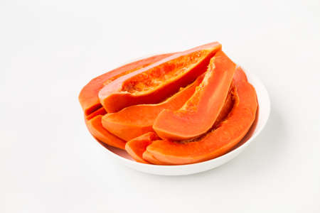 Fresh papaya fruit-Healthy fruit 免版税图像 - 152115744