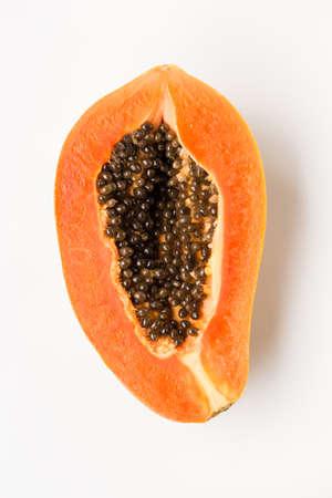 Fresh papaya fruit- Healthy fruit 版權商用圖片 - 152115745