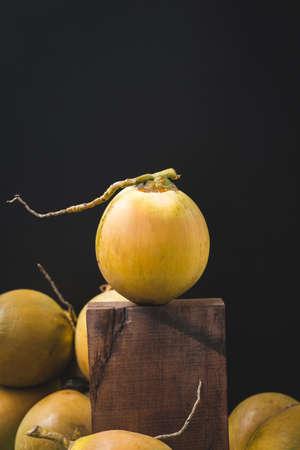 Fresh coconut-Healthy fruit 免版税图像 - 152115807