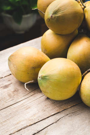 Fresh coconut- Healthy fruit 版權商用圖片 - 152115809