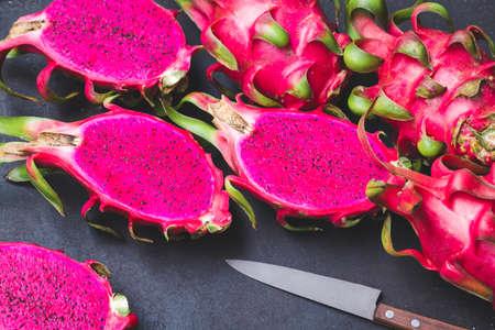 Fresh red dragon fruit- Pitaya fruit