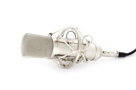 condenser: condenser microphone