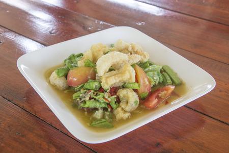 long beans: Thai food-Spicy Yard Long Beans Salad