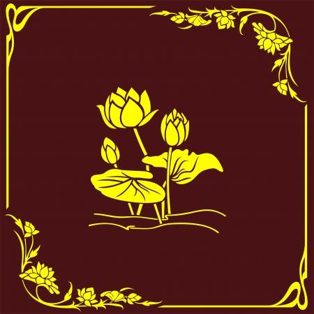 etch glass: flor de la esquina