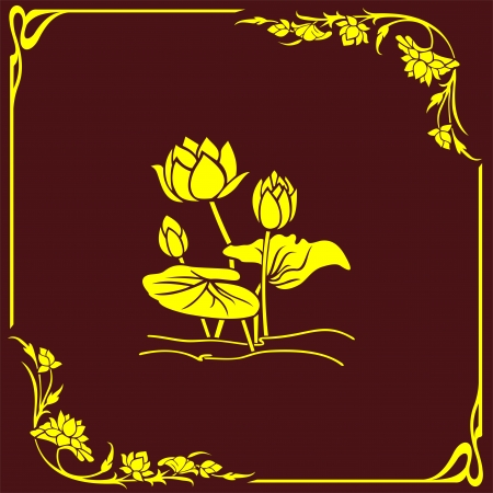 coreldraw: flower corner