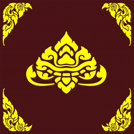 coreldraw: Thai corner Illustration