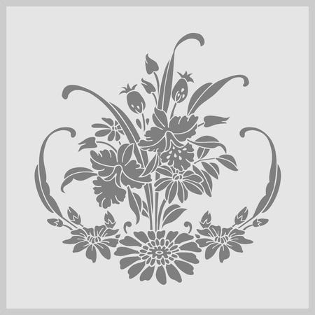 cnc: floral flowers