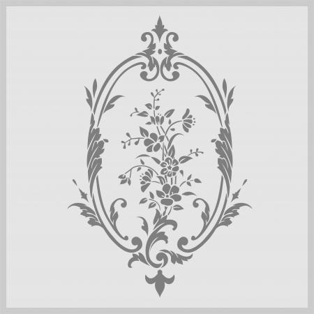 sandblast: floral flowers