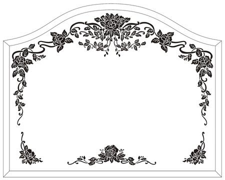 sandblast: frame mirror