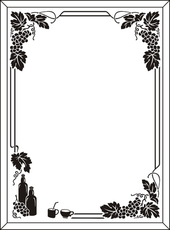 etch glass: grape