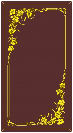 etch glass: etching glass pattern Illustration