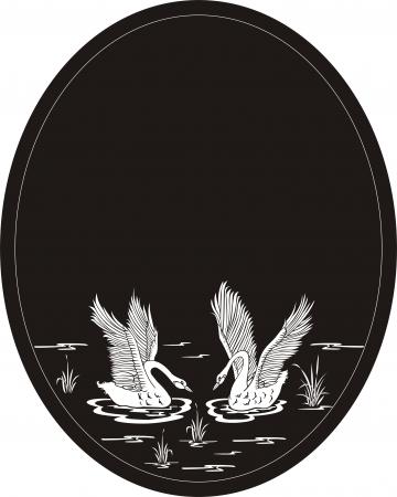 sandblast: swan