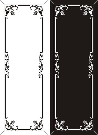 coreldraw: glass etching pattern