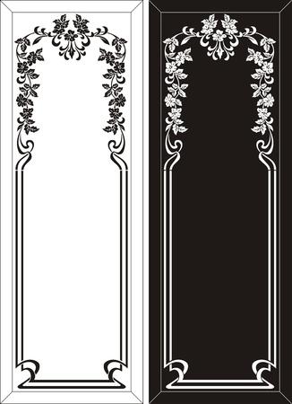 etch glass: patr�n de grabado de vidrio