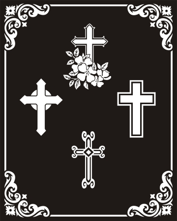 etch: Cross pattern