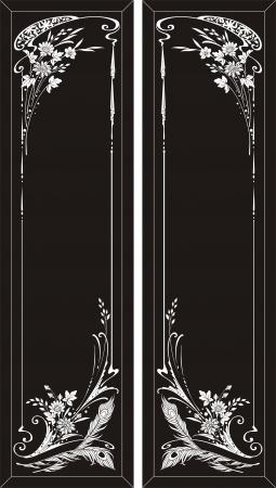 etch: flower corner