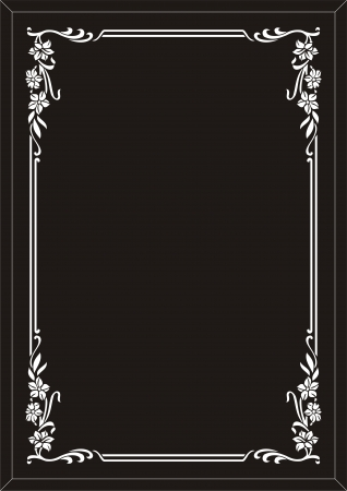frame mirror Vector
