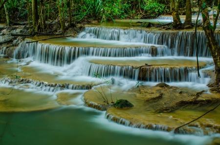 khamin: Huay Mae Khamin - Waterfall is so beautiful of waterfall in Thailand, Huay Mae Khamin National Park