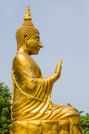 Big Buddha in Ratchabuti province, Thailand  photo