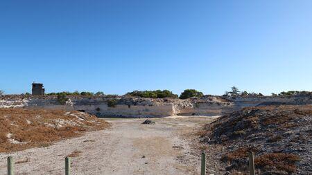 robben island: Lime Quarry