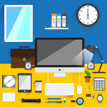 office objects: home office design